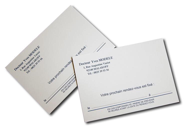 Cartes de 1 rendez vous par 1000 medivia for Kitchen cabinets lowes with destructeur de papier