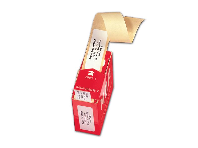 Rouleau Distributeur de 200 Etiquettes Adresse