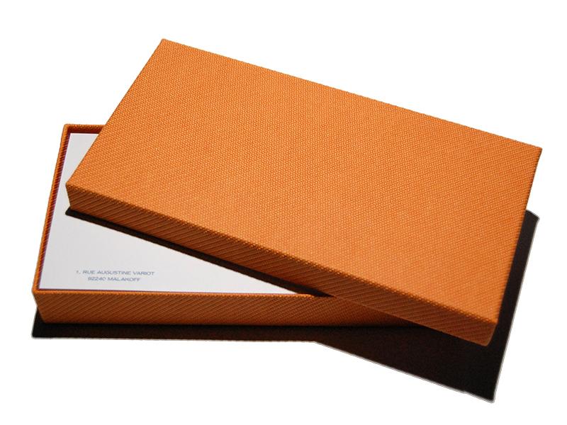 Cartes de Correspondance Relief Mat 10,5x21 par 300