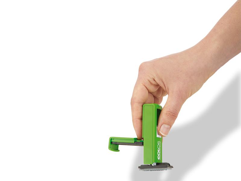 Tampon Pocket 3 lignes Vert