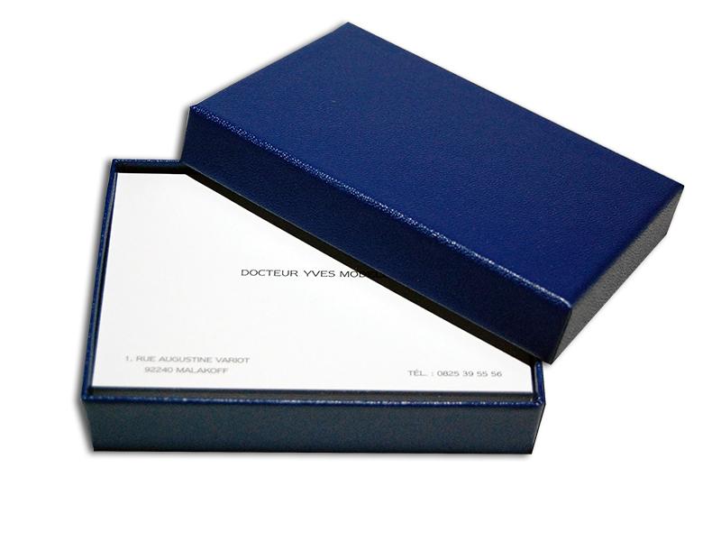 Cartes De Visite Relief Mat 55x85 Par 300