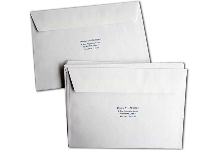 Enveloppe Sans Fenêtre C6 11,4x16,2 cm par 500
