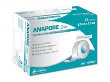 Sparadrap microporeux Anapore Soie sans dévidoire - 9,14mx2,5cm - boîte de 12 rouleaux