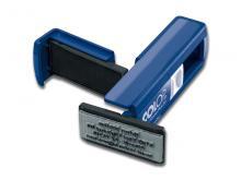 Tampon Pocket 3 lignes Bleu