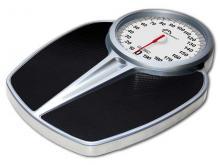 Pèse-personne Mécanique-Little Balance-PRO M 200-200kg-1KG Silver