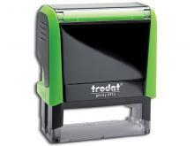 Tampon Trodat Auto-Encreur Compact 4 lignes Vert