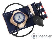 Tensiomètre Vaquez-Laubry® Classic avec brassard sangles coton marine Adulte (M)