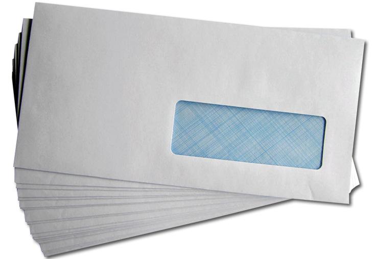 Enveloppe Avec Fenêtre Dl 11x22 Cm Par 500 Medivia