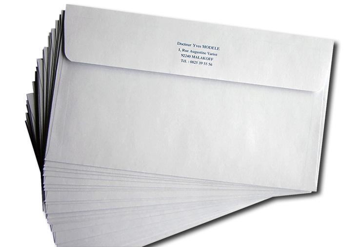 Enveloppe Sans Fenêtre 11x19 Cm Par 1000 Medivia